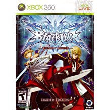 Blazblue Calamity Trigger Limited Edition    XBOX 360
