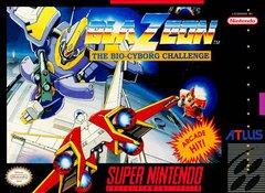 BlaZeon The Bio Cyborg Challenge BOXED COMPLETE    SUPER NINTENDO ENTERTAINMENT SYSTEM