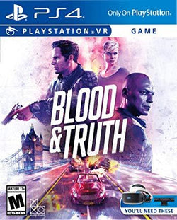 Blood & Truth    PLAYSTATION 4 VR