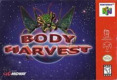 Body Harvest DMG LABEL    NINTENDO 64