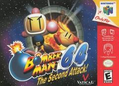 Bomberman 64 The Second Attack DMG LABEL    NINTENDO 64