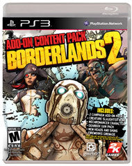 Borderlands 2 Add-On Content Pack    PLAYSTATION 3