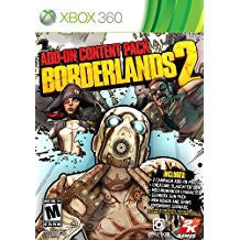 Borderlands 2 Add-On Content Pack (BC)    XBOX 360