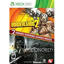 Borderlands 2 & Dishonored Bundle    XBOX 360