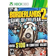 Borderlands 2 Game of the Year Edition (BC)    XBOX 360