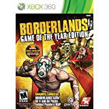 Borderlands Game Of The Year (1 Disc Version)    XBOX 360