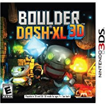 Boulder Dash XL    NINTENDO 3DS
