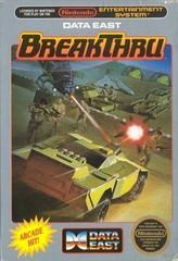 Breakthru DMG LABEL    NINTENDO ENTERTAINMENT SYSTEM