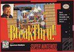 BreakThru BOXED COMPLETE    SUPER NINTENDO ENTERTAINMENT SYSTEM