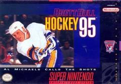 Brett Hull Hockey 95 BOXED COMPLETE    SUPER NINTENDO ENTERTAINMENT SYSTEM