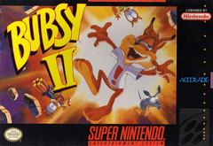 Bubsy II DMG LABEL    SUPER NINTENDO ENTERTAINMENT SYSTEM