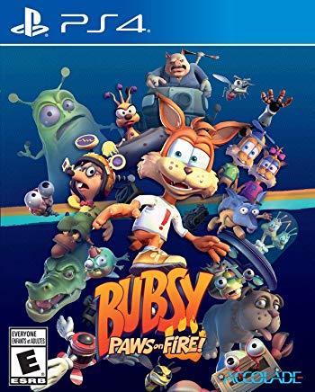 Bubsy Paws On Fire    PLAYSTATION 4