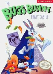Bugs Bunny Crazy Castle DMG LABEL    NINTENDO ENTERTAINMENT SYSTEM