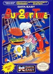 Burgertime BOXED COMPLETE    NINTENDO ENTERTAINMENT SYSTEM