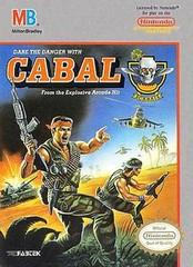 Cabal DMG LABEL    NINTENDO ENTERTAINMENT SYSTEM