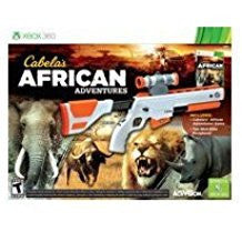 Cabelas African Adventures 2013 with gun    XBOX 360