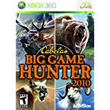 Cabelas Big Game Hunter 2010    XBOX 360