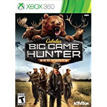 Cabelas Big Game Hunter Pro Hunts    XBOX 360