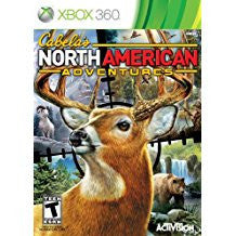 Cabelas North American Adventures 2011    XBOX 360