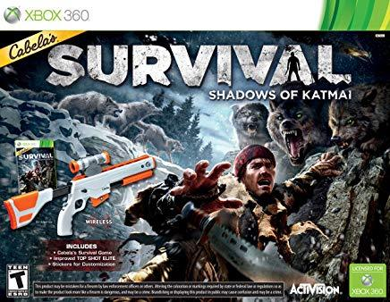Cabelas Survival Shadows Of Katmai with gun (BC)    XBOX 360
