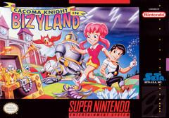 Cacoma Knight in Bizyland DMG LABEL    SUPER NINTENDO ENTERTAINMENT SYSTEM