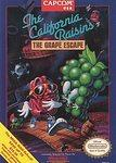 California Raisins The Great Escape    NINTENDO ENTERTAINMENT SYSTEM