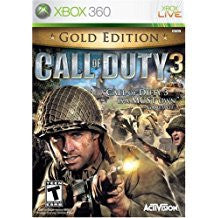 Call Of Duty 3 Gold Edition    XBOX 360