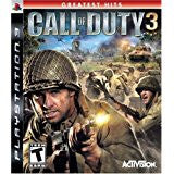 Call Of Duty 3    PLAYSTATION 3