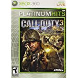 Call Of Duty 3 (BC)    XBOX 360