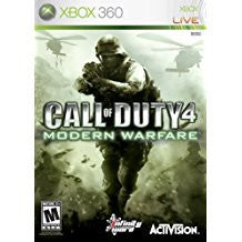 Call Of Duty 4 Modern Warfare (BC)    XBOX 360