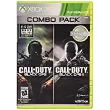 Call of Duty Black Ops 1 & 2 Combo Pack (BC)    XBOX 360