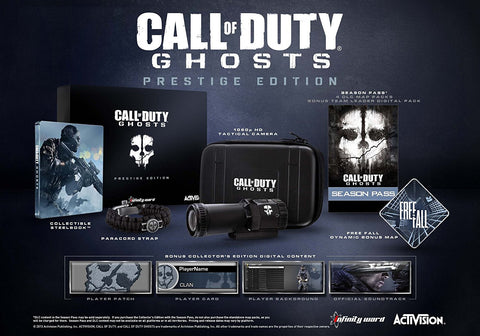 Call of Duty Ghosts Prestige Edition    PLAYSTATION 4