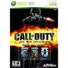 Call of Duty The War Collection (BC)    XBOX 360