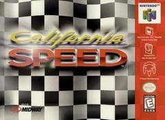 California Speed DMG LABEL    NINTENDO 64