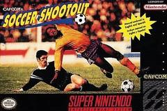 Capcoms Soccer Shootout DMG LABEL    SUPER NINTENDO ENTERTAINMENT SYSTEM
