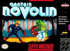 Captain Novolin    SUPER NINTENDO ENTERTAINMENT SYSTEM