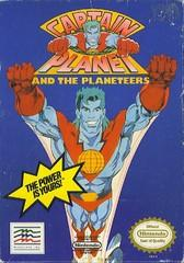 Captain Planet DMG LABEL    NINTENDO ENTERTAINMENT SYSTEM