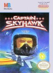 Captain Skyhawk DMG LABEL    NINTENDO ENTERTAINMENT SYSTEM