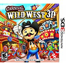 Carnival Games Wild West 3D    NINTENDO 3DS