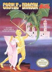 Castle of Dragon BOXED COMPLETE    NINTENDO ENTERTAINMENT SYSTEM