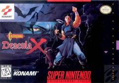 Castlevania Dracula X DMG LABEL    SUPER NINTENDO ENTERTAINMENT SYSTEM