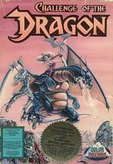 Challenge of the Dragon DMG LABEL    NINTENDO ENTERTAINMENT SYSTEM