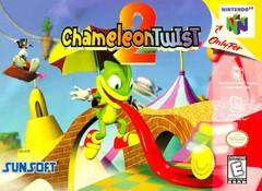 Chameleon Twist 2 DMG LABEL    NINTENDO 64