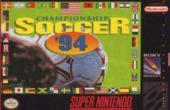 Championship Soccer 94    SUPER NINTENDO ENTERTAINMENT SYSTEM