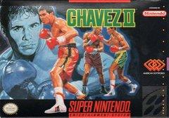 Chavez Boxing II DMG LABEL    SUPER NINTENDO ENTERTAINMENT SYSTEM
