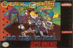 Chester Cheetah Too Cool to Fool    SUPER NINTENDO ENTERTAINMENT SYSTEM