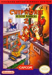 Chip n Dale Rescue Rangers 2 BOXED COMPLETE    NINTENDO ENTERTAINMENT SYSTEM