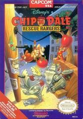 Chip n Dale Rescue Rangers BOXED COMPLETE    NINTENDO ENTERTAINMENT SYSTEM