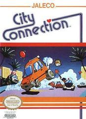City Connection DMG LABEL    NINTENDO ENTERTAINMENT SYSTEM