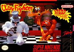 ClayFighter DMG LABEL    SUPER NINTENDO ENTERTAINMENT SYSTEM